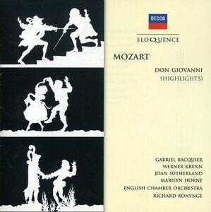 Foto Cover di Don Giovanni, CD di Wolfgang Amadeus Mozart, prodotto da Eloquence