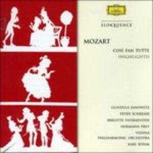 CD Cosi Fan Tutte di Wolfgang Amadeus Mozart