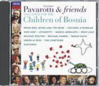 Foto Cover di Pavarotti & Friends Together for the Children of Bosnia, CD di  prodotto da Decca