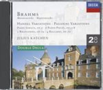 CD Musiche per pianoforte di Johannes Brahms