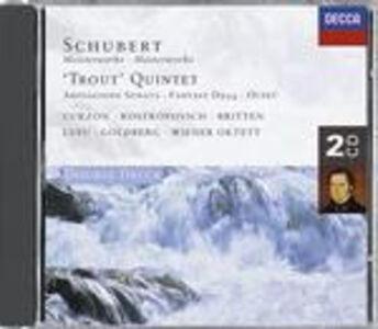 """CD Quintetto con pianoforte """"La trota"""" - Ottetto - Sonata Arpeggione di Franz Schubert"""