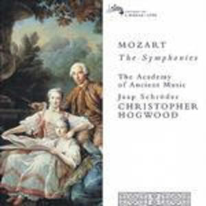 Sinfonie complete - CD Audio di Wolfgang Amadeus Mozart,Christopher Hogwood,Academy of Ancient Music