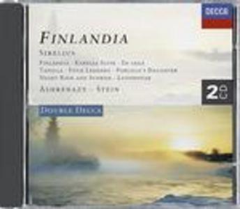 CD Finlandia - Karelia Suite - Tapiola - En Saga di Jean Sibelius