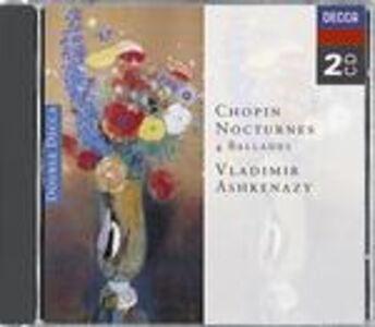 Foto Cover di Notturni - Ballate, CD di Fryderyk Franciszek Chopin,Vladimir Ashkenazy, prodotto da Decca