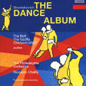 Foto Cover di The Dance Album, CD di AA.VV prodotto da Decca