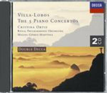 Concerti per pianoforte completi - CD Audio di Heitor Villa-Lobos,Royal Philharmonic Orchestra,Cristina Ortiz,Miguel Gomez-Martinez