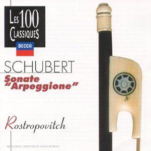 Foto Cover di Sonata Arpeggione, CD di Franz Schubert, prodotto da Decca