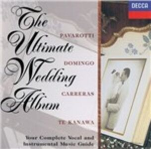 Foto Cover di The Ultimate Wedding Album, CD di  prodotto da Universal