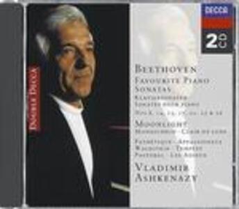 Sonate per pianoforte n.8, n.14, n.15, n.17, n.21, n.23, n.26 - CD Audio di Ludwig van Beethoven,Vladimir Ashkenazy