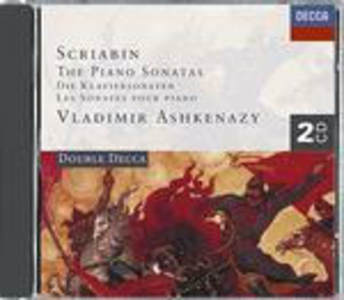 CD Sonate per pianoforte complete di Alexander Nikolayevich Scriabin