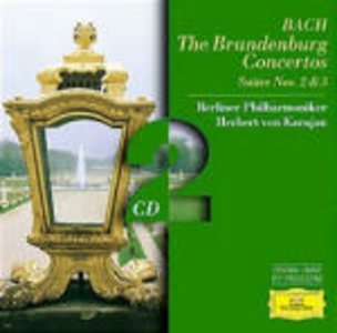 CD Concerti brandeburghesi completi - Suites n.2, n.3 di Johann Sebastian Bach