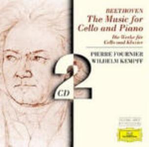 Sonate per violoncello - CD Audio di Ludwig van Beethoven,Wilhelm Kempff,Pierre Fournier