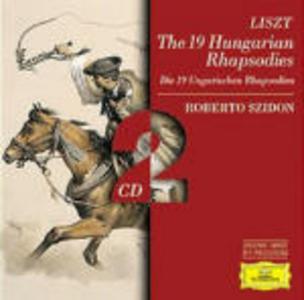 CD Rapsodie ungheresi per pianoforte di Franz Liszt