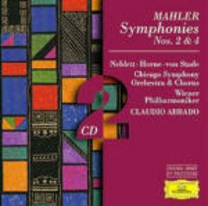 Foto Cover di Sinfonie n.2, n.4, CD di AA.VV prodotto da Deutsche Grammophon