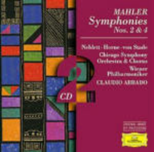 CD Sinfonie n.2, n.4 di Gustav Mahler