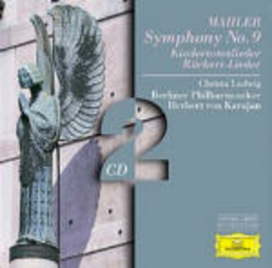 CD Sinfonia n.9 - Kindertotenlieder - Rückert-Lieder di Gustav Mahler