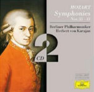 CD Sinfonie n.35, n.36, n.37, n.38, n.39, n.40, n.41 di Wolfgang Amadeus Mozart