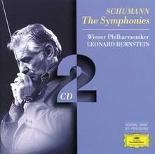 Sinfonie complete - CD Audio di Leonard Bernstein,Robert Schumann,Wiener Philharmoniker