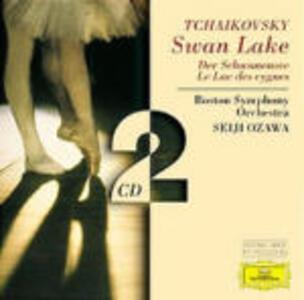 Il lago dei cigni - CD Audio di Pyotr Il'yich Tchaikovsky,Seiji Ozawa,Boston Symphony Orchestra