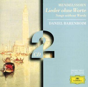 CD Romanze senza parole di Felix Mendelssohn-Bartholdy