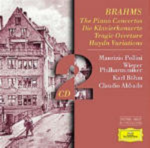 CD Concerti per pianoforte n.1, n.2 - Ouverture Tragica - Variazioni su un tema di Haydn di Johannes Brahms