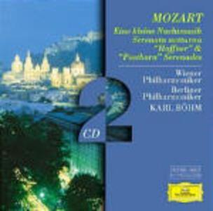 Serenate - CD Audio di Wolfgang Amadeus Mozart,Berliner Philharmoniker,Wiener Philharmoniker,Karl Böhm