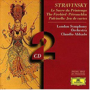 CD La sagra della primavera (Le Sacre du Printemps) - L'uccello di fuoco (L'oiseau de feu) - Pulcinella -Petrouchka - Jeu de cartes di Igor Stravinsky