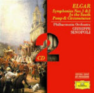 CD Sinfonie n.1, n.2 - Pomp and Circumstance di Edward Elgar