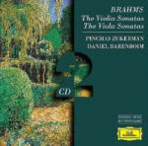 CD Sonate per violino e pianoforte - Sonate per viola e pianoforte di Johannes Brahms