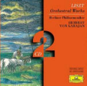 CD Opere per orchestra di Franz Liszt