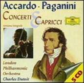 CD Concerti per violino - Capricci Niccolò Paganini Salvatore Accardo London Philharmonic Orchestra