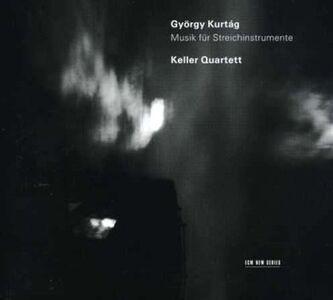 CD Musica per strumenti ad arco di György Kurtag
