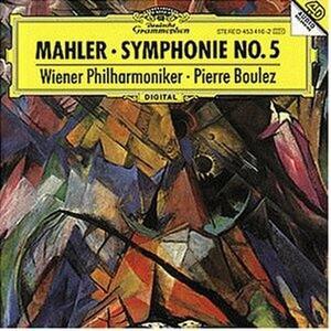 Sinfonia n.5 - CD Audio di Pierre Boulez,Gustav Mahler,Wiener Philharmoniker