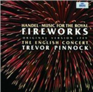 Foto Cover di Musica per i reali fuochi d'artificio (Music for the Royal Fireworks), CD di English Concert,Georg Friedrich Händel, prodotto da Archiv