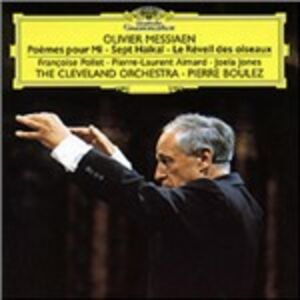 CD Poèmes - Sept haikai di Olivier Messiaen
