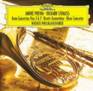 CD Concerti per corno n.1, n.2 - Concerto per oboe - Duett Concertino di Richard Strauss