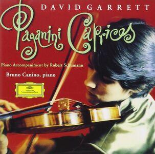 Foto Cover di Capricci, CD di Niccolò Paganini,David Garrett, prodotto da Dgg