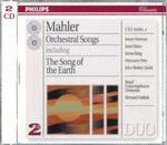 CD Lieder completi - Il canto della terra (Das Lied von der Erde) di Gustav Mahler
