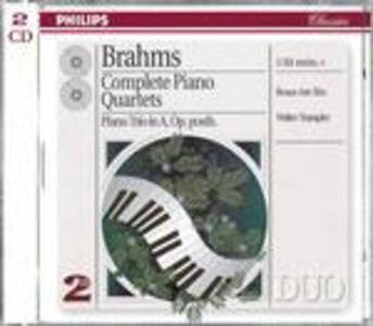 CD Quartetti con pianoforte completi - Trio con pianoforte in La op.post. di Johannes Brahms