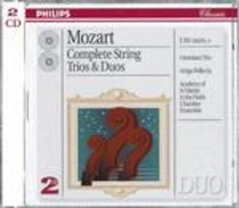 CD Duetti e trii per archi di Wolfgang Amadeus Mozart