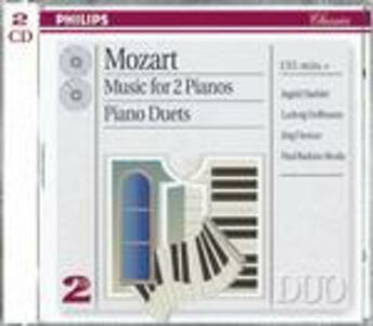 CD Musica per due pianoforti di Wolfgang Amadeus Mozart