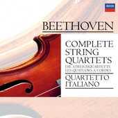 CD Quartetti per archi completi Ludwig van Beethoven Quartetto Italiano