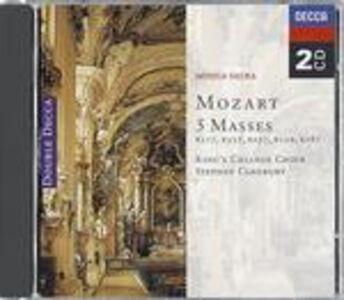 CD Messa dell'incoronazione K317, Messe K337, K257, K139, K167 di Wolfgang Amadeus Mozart