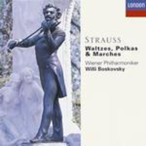 Valzer - CD Audio di Johann Strauss,Wiener Philharmoniker,Willi Boskovsky