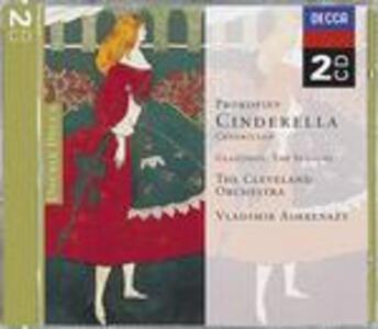 Cenerentola / Le Stagioni - CD Audio di Sergej Sergeevic Prokofiev,Alexander Kostantinovich Glazunov,Vladimir Ashkenazy,Cleveland Orchestra
