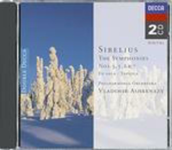 CD Sinfonie n.3, n.5, n.6, n.7 di Jean Sibelius