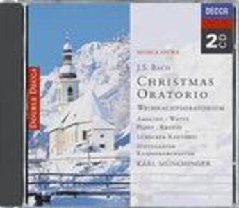 Foto Cover di Oratorio di Natale (Weihnachts-Oratorium), CD di AA.VV prodotto da Decca