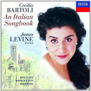An Italian Songbook - CD Audio di Cecilia Bartoli,James Levine