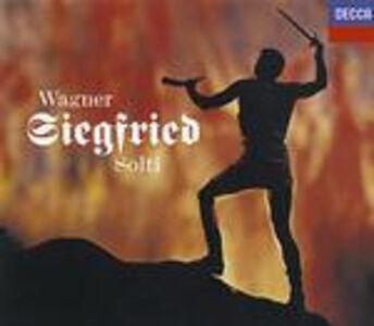 CD Sigfrido (Siegfried) di Richard Wagner