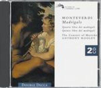 CD Madrigali di Claudio Monteverdi
